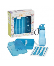 Набор посуды Herevin голубой 161295-009, 8699038028975