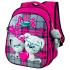 Рюкзак школьный для девочек Winner-stile 8001 розовый