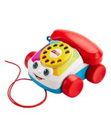 Игрушка-каталка Fisher-Price Весёлый телефон