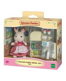 Игровой набор Sylvanian Families Мама возле холодильника 5014, 5054131050149