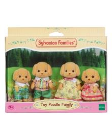 Игровой набор Sylvanian Families Семья карликовых пуделей 5259, 5054131052594