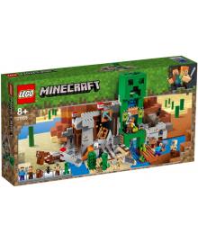Конструктор LEGO Minecraft Шахта Крипера (21155), 5702016370935