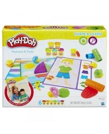 Набор Play-Doh Текстуры и инструменты