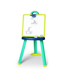 Мольберт Smoby со съемной доской и аксессуарами, сине-зеленый 410607, 3032164106073