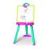 Мольберт Smoby со съемной доской и аксессуарами, розово-синий 410608, 3032164106080