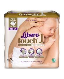 Подгузники Libero Touch Размер 1 (2-5 кг) 22 шт