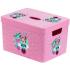 Контейнер для хранения игрушек Herevin Disney Minnie, 35х25х23 см, розовый (161491-021), 8699038070691