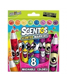 Набор ароматных маркеров Scentos Плавная линия, 8 шт.