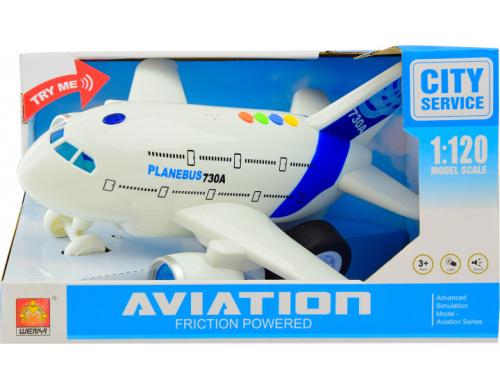 Літак Shantou зі світловими і звуковими ефектами (WY730A)
