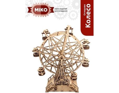 3D пазл-конструктор МІКО Оглядове Колесо (М10003)