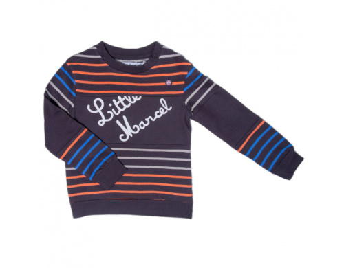 Свитшот Little Marcel, LMRH1114-black, 11-12 лет (144-150 см), 11-12 лет