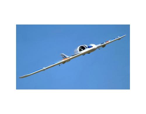 Летающее крыло TechOne Neptune EDF 1230мм EPO ARF (синий)