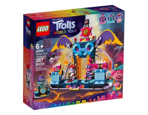 LEGO® Trolls Концерт в городе Рок-на-Вулкане 41254