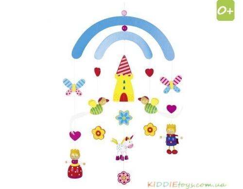 """3d Мобиль на кроватку Goki """"Дворец"""" (52909)"""
