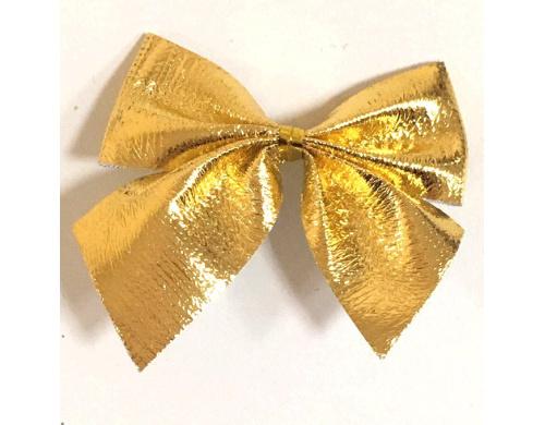 Бант декоративный (золотой) 6 см 121216-004