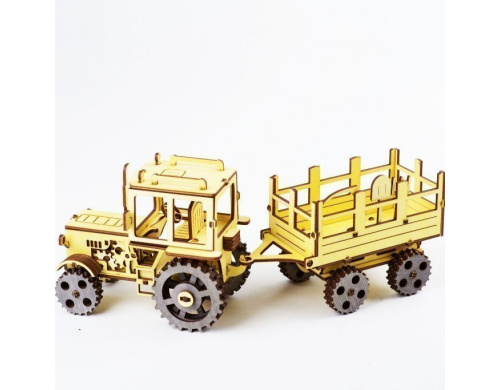 Детский 3Д пазл ekoGOODS Трактор ЮМЗ (19871989)