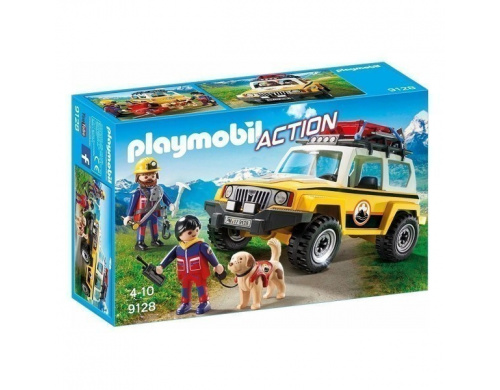 Горноспасательный автомобиль Playmobil