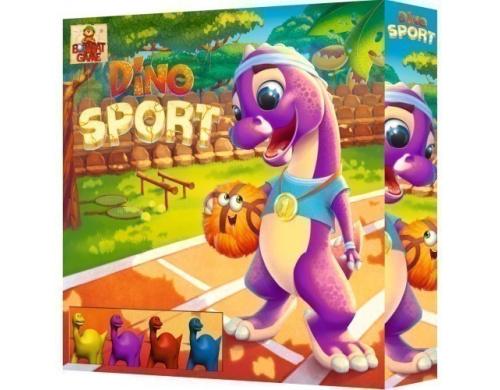 Настільна гра для дітей «Dino SPORT» , БомбатГейм ( 4820172800231 )