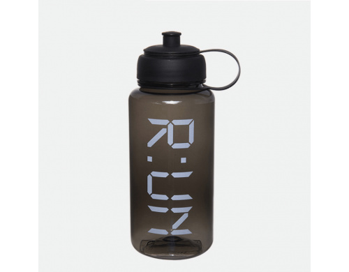 Бутылка для воды Carry My RUN черная (WB-704)