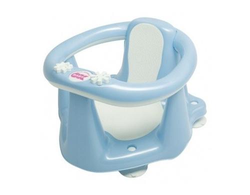 Сидение для ванны OK Baby Flipper Evolution c термодатчиком, голубой (37995535)