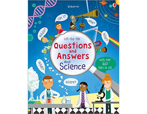 Детская книга с окошками  Lift-the-Flap: Questions and Answers About Science (9781409598985)