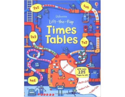 Детская книга с окошками  Lift-the-Flap: Times Tables (9781409550242)