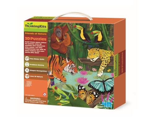 Детский 3D-пазл 4M Тропический лес (00-04678)