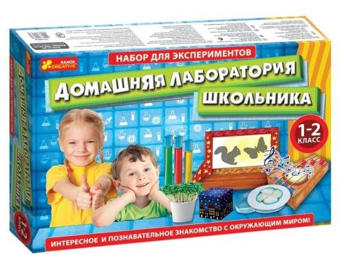 """9781 Набір для експерементів """"Лабораторія школяра 1-2 клас"""" 12114063Р"""