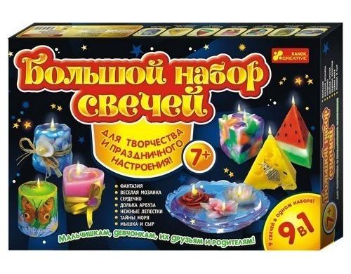 9007  Великий набір свічок 7+ 9 в1 15100214Р