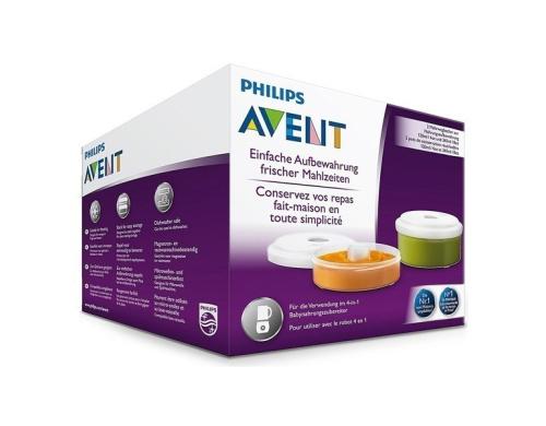 Контейнеры Philips Avent для хранения продуктов, 240 мл + 120 мл